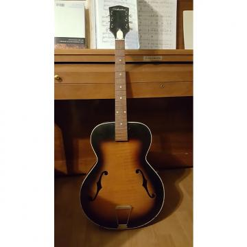 Custom Rare Silvertone Kay bolt on neck acoustic f-hole archtop guitar 1959-1961 Made in USA Project