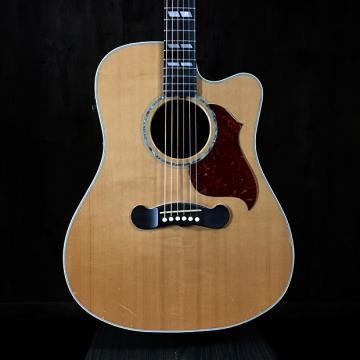 Custom Gibson Songwriter Deluxe Studio EC 2006 Natural Spruce