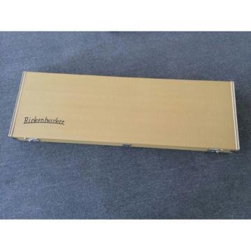 Custom Left Handed Lemmy Kilmister  4003 Natural Special Carvings Alder Wood Bass