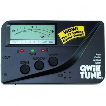 Qwik Tune Quartz Automatic Guitar & Bass Tuner