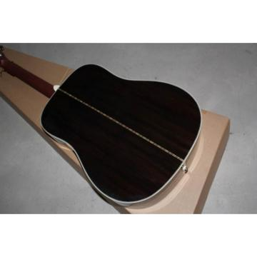 Custom Shop Martin D28 Solid Spruce Top Acoustic Guitar Sitka Solid Spruce Top With Ox Bone Nut & Saddler