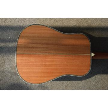 D45 Martin Guitar With Solid Spruce and Solid Mahogany Back and Side
