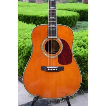 Custom martin strings acoustic Shop martin acoustic strings Solid martin d45 Spruce martin Top acoustic guitar martin Ply Rosewood Back and Sides D45 Martin Amber Acoustic Guitar