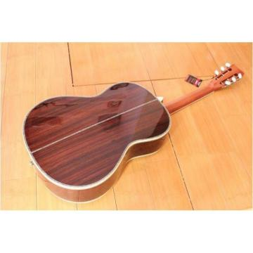 Custom Shop Martin D45 1833 Cedar Wood Body Acoustic Guitar Sitka Solid Spruce Top With Ox Bone Nut & Saddler
