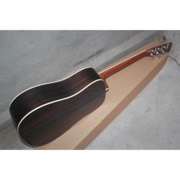 Custom Shop Martin Solid Spruce Top D28 Natural Acoustic Guitar Sitka Solid Spruce Top With Ox Bone Nut & Saddler