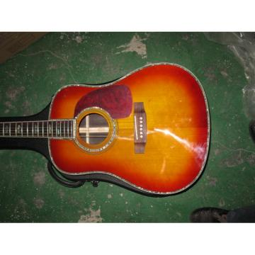 Custom Shop Dreadnought CMF Martin D45 Vintage Acoustic Guitar Sitka Solid Spruce Top With Ox Bone Nut & Saddler