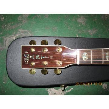 Custom martin d45 Shop martin guitar strings acoustic CMF dreadnought acoustic guitar Martin martin strings acoustic Natural martin guitar case Varnish Acoustic Guitar Sitka Solid Spruce Top With Ox Bone Nut & Saddler