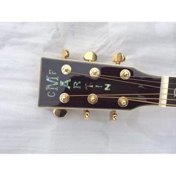 Custom martin guitar Shop martin guitar strings acoustic 1833 martin acoustic guitar strings Martin martin guitars D45 guitar martin Natural Acoustic Guitar Sitka Solid Spruce Top With Ox Bone Nut & Saddler