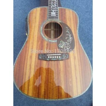 Custom Shop 1833 CMF D45 Martin Picea Asperata Body Acoustic Guitar
