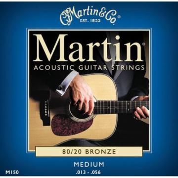 1 Martin M150 Medium .013-.056 Acoustic Guitar String