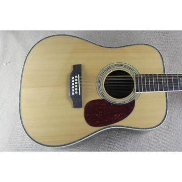 Custom martin guitar 1833 martin acoustic guitar Martin martin guitar strings acoustic D45 martin acoustic strings Natural martin Acoustic 12 String Guitar Sitka Solid Spruce Top With Ox Bone Nut & Saddler