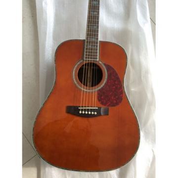 Custom martin d45 1833 martin acoustic strings Martin martin guitar strings acoustic medium D45 guitar strings martin Amber martin guitars Acoustic Guitar Sitka Solid Spruce Top With Ox Bone Nut & Saddler