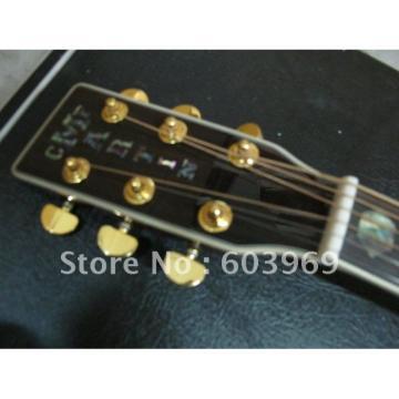 41 Inch CMF Martin Left Handed Acoustic Guitar Sitka Solid Spruce Top With Ox Bone Nut & Saddler