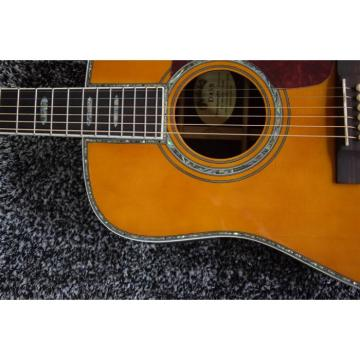 Custom Dreadnought D45S 1833 Martin Acoustic Guitar Amber Finish