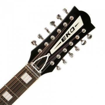 Superb New Eko Ranger 12 Vintage Reissue Acoustic 12 string Guitar Zero Fret