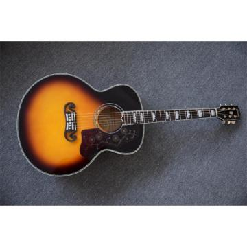 Custom Shop SJ200 Sunburst Acoustic Guitar Japan Parts