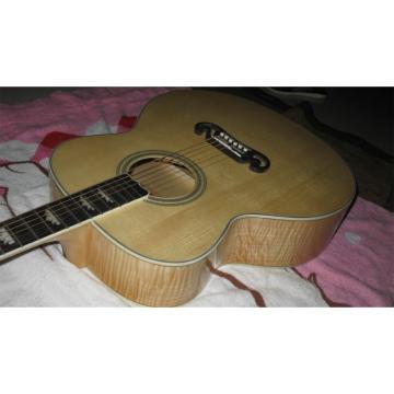 Custom guitar strings martin Shop martin guitar SJ200 martin acoustic strings Elvis guitar martin Presley martin guitar strings Flame Maple Back Acoustic Guitar