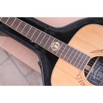 Custom Shop Jack Daniels Natural Acoustic Guitar