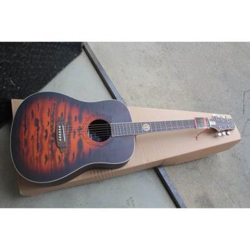 Custom Shop Jack Daniels Dark Acoustic Guitar