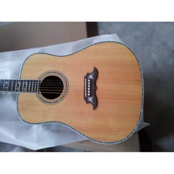Custom Shop Dove Natural Solid Spruce Top Acoustic Guitar