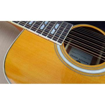 Custom Shop EKO Full Size 12 String Acoustic Guitar