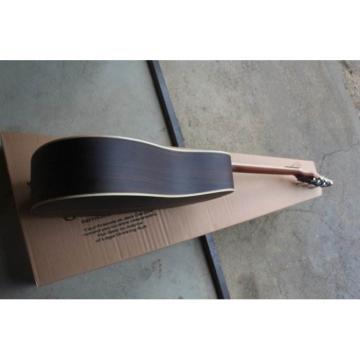 Custom Jack Daniels Tennesse Brown Acoustic Guitar