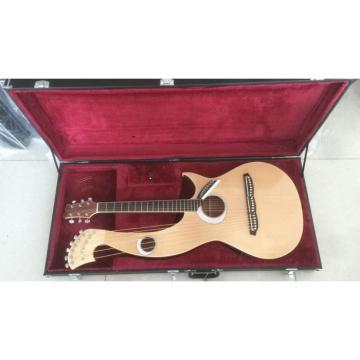 Custom-made Harp Guitar
