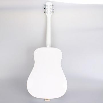 "Beginner martin acoustic guitar 41"" acoustic guitar martin Folk martin acoustic strings Acoustic martin d45 Wooden martin guitars acoustic Guitar White"