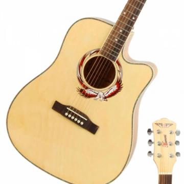 "Beginner acoustic guitar martin 41"" martin guitar strings acoustic Cutaway dreadnought acoustic guitar Folk martin guitar case Acoustic martin guitar strings Wooden Guitar Natural Color"