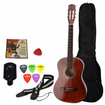 "38"" acoustic guitar strings martin Classical martin Acoustic martin acoustic guitar strings Guitar guitar martin Brown martin guitar case with Freebies Ship From US Warehouse"