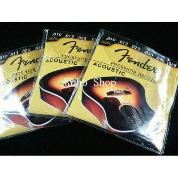 3 Sets Of Acoustic Guitar Strings 60XL