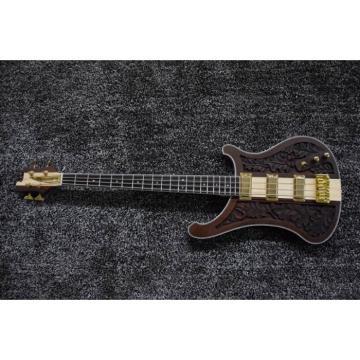 Custom Design Lemmy Kilmister 4003 Brown Matte 4 String Bass