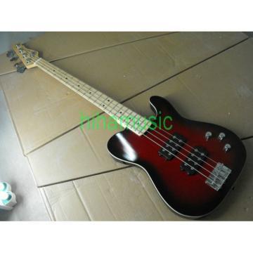 Red Asat 4 String Bass