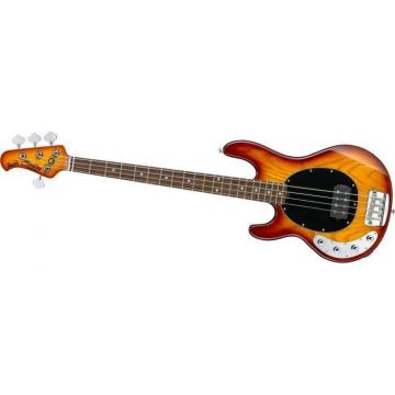 NEW STERLING RAY34LH-HB LEFT-HANDED HONEYBURST 4 STRING ELECTRIC BASS GUITAR