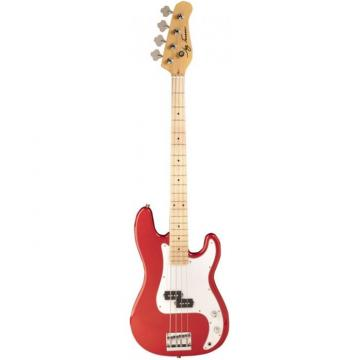 Jay Turser JTB-400M Series Electric Bass Guitar Candy Apple Red