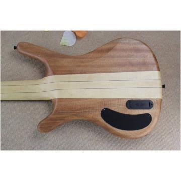 Custom Warwick 5 Strings Natural Electric Bass