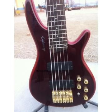 Custom SR506 Ibanez Sound Gear Brown 6 String Bass
