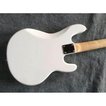 Custom Shop White Music Man StingRay 4 Left Handed Bass