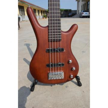 Custom Shop Warwick Thumb BO 5 String Natural Brown Bass
