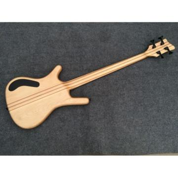 Custom Shop Warwick Corvette 4 Strings Brown Electric Bass Fretless No Inlays