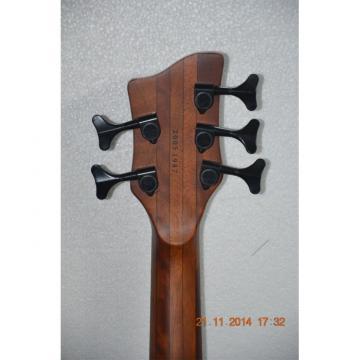 Custom Shop Warwick 5 Strings Walnut Brown Bass