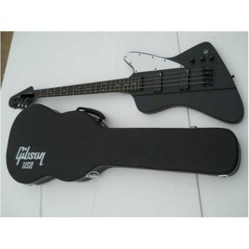 Custom Shop Thunderbird Black Explorer Matte Electric Bass