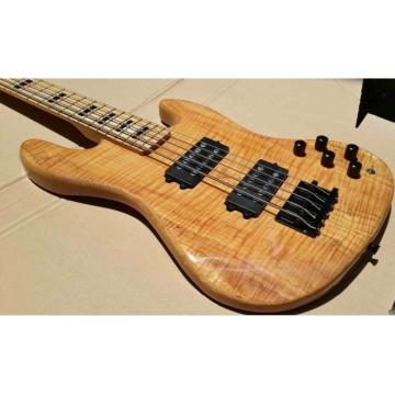 Custom Shop Tiger Maple Marcus Miller Signature Jazz Bass