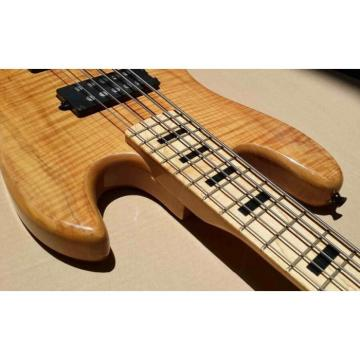 Custom Shop Tiger Maple Marcus Miller Signature Jazz Bass