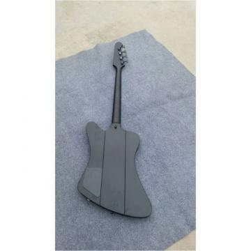 Custom Shop Thunderbird Black Explorer Matte Bass