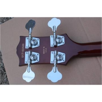 Custom Shop Sunburst Midtown Standard 4 String Semi Hollow Bass