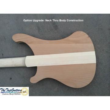 Custom Shop Naturalglo 4003 Bass Neck Through Body
