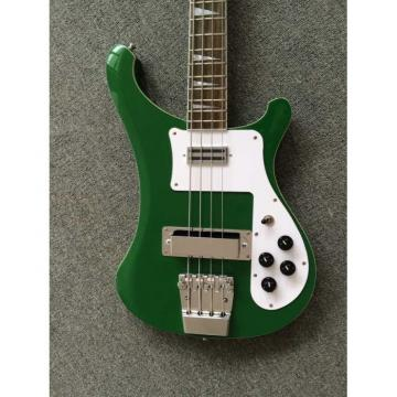 Custom Shop Rickenbacker Green 4003 Electric Bass