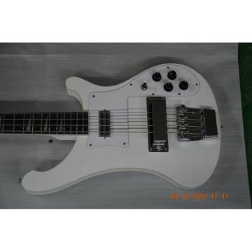 Custom Shop Rickenbacker White 4003 Bass
