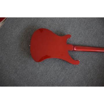 Custom Shop 4003 Neck Thru Body Construction Ruby Red Bass